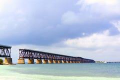 Alte Brücke Bahia-Honda Lizenzfreies Stockfoto