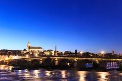 Alte Brücke in Blois, Loire-und-Cher, Mitte Stockfoto