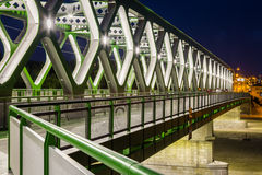Alte Brücke im Detail Bratislava, Slowakei Lizenzfreie Stockbilder