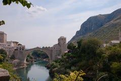 Alte Brücke in Mostar Stockbilder