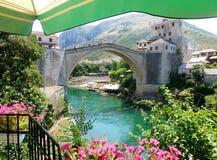 Alte Brücke in Mostar Stockfotografie