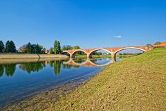 Alte Brücke Sisak Stockbilder