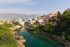 Alte Brücke von Mostar, Bosnien-Herzegowina Lizenzfreie Stockbilder