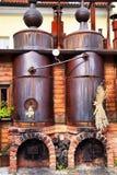 Alte Brauerei Stockbild