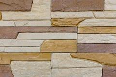 Alte braune Ziegelstein-Wand-Musterbacksteinmauerbeschaffenheit oder Backsteinmauerhintergrundlicht für Innen- oder Außenbackstei Stockfotografie