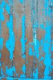 Alte Bretter mit flockigem Farbschicht Lizenzfreie Stockfotografie