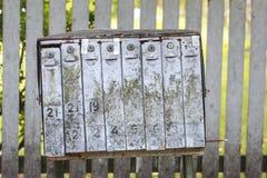 Alte Briefkästen Lizenzfreie Stockfotos