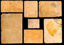 Alte Briefmarken Stockfoto