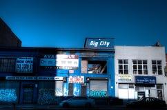 Alte Brooklyn-Straße Lizenzfreie Stockfotos