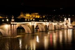 Alte Bruecke Heidelberg Fotografia Stock Libera da Diritti