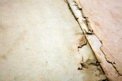 Alte Bucheinband-Weinlesebeschaffenheit lokalisierte verbindlichen Papierbuchstaben Yid des schwarzen Manuskriptes des Hintergrun Stockbild