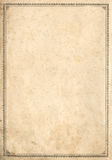 Alte Buchseite lizenzfreies stockbild