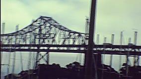 Alte Bucht-Brücke stock video