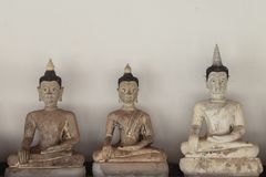 Alte Buddha-Bilder lizenzfreie stockfotografie