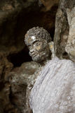Alte Buddha-Statue Lizenzfreie Stockfotos