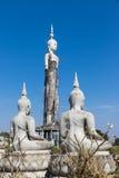 Alte Buddha-Statue Stockbild