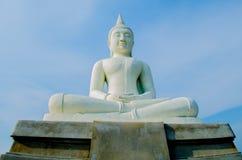 Alte Buddha-Statuen Stockbild