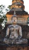 Alte Buddha-Statuen Stockfoto