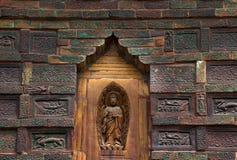 Alte Buddha-Ziegelstein-Eisen-Pagode China Stockfotografie
