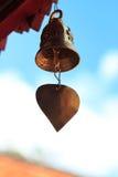 Alte buddhistische Messingbell Lizenzfreie Stockfotografie