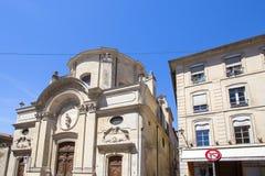 Alte buldings in Avignon, Frankreich Lizenzfreie Stockfotos