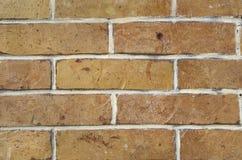Alte bunte Backsteinmauernahaufnahme Lizenzfreies Stockbild