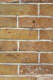 Alte bunte Backsteinmauernahaufnahme Stockfotos
