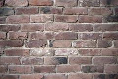 Alte bunte resaturated Backsteinmauerbeschaffenheit Lizenzfreie Stockfotografie