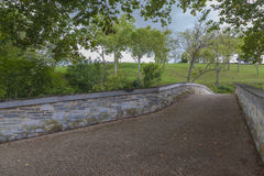 Alte Burnside-Brücke am Antietam-Staatsangehörig-Schlachtfeld Stockbild