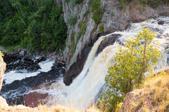 Alte cadute del fiume di battesimo Immagini Stock Libere da Diritti