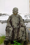 Alte Chainese-Skulptur Lizenzfreie Stockfotos