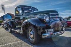 Alte Chevrolet-Aufnahme Lizenzfreie Stockfotografie