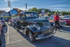 Alte Chevrolet-Aufnahme Lizenzfreies Stockbild