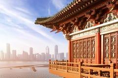 Alte chinesische Architektur lizenzfreie stockbilder