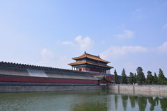 Alte chinesische Architektur Stockbild