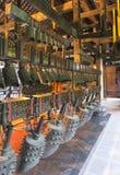 Alte chinesische Bronzezarge Lizenzfreie Stockbilder