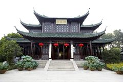 Alte chinesische Gebäude Stockfotografie
