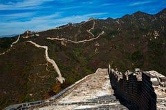 Alte Chinesische Mauer Stockbild