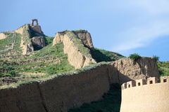alte Chinesische Mauer Lizenzfreies Stockbild