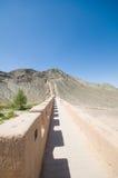 Alte Chinesische Mauer Jiayuguan Lizenzfreies Stockbild