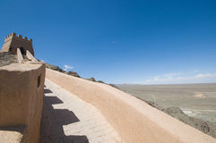 Alte Chinesische Mauer Jiayuguan Lizenzfreie Stockfotos