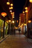 Alte chinesische Stadt Stockfoto