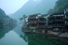 Alte chinesische Stadt ---Feng Huang Stockbilder