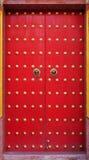 Alte chinesische Tür Stockfoto