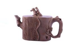 Alte chinesische Teekanne Lizenzfreies Stockfoto