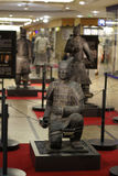 Alte chinesische Terrakotta-Armee Lizenzfreies Stockbild