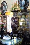 Alte chinesische und thailändische Glasur Lizenzfreie Stockfotos