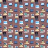 Alte Computervektorillustration Lizenzfreies Stockfoto