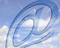 Alte comunicazioni di volo Immagine Stock Libera da Diritti