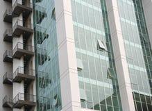 Alte costruzione e scala Immagini Stock Libere da Diritti